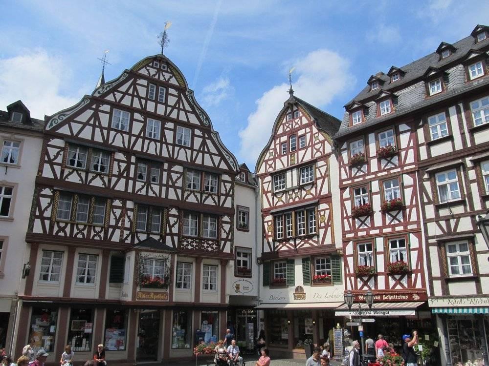 Mittelalterlicher Marktplatz von Bernkastel Kues